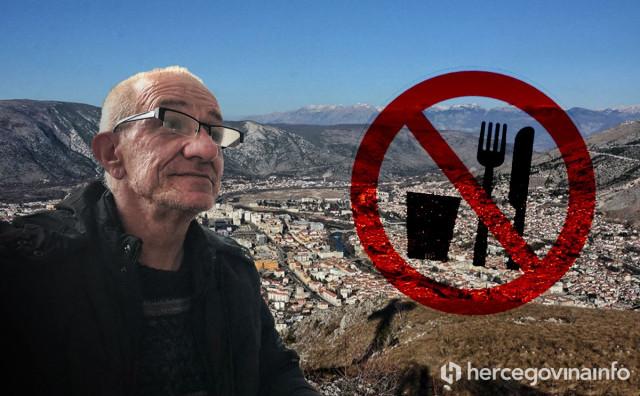 PUNA MU KAPA Mostarac najavio štrajk glađu