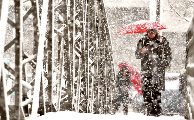 STIŽE PROMJENA Danas pretežno oblačno vrijeme ali bit će snijega