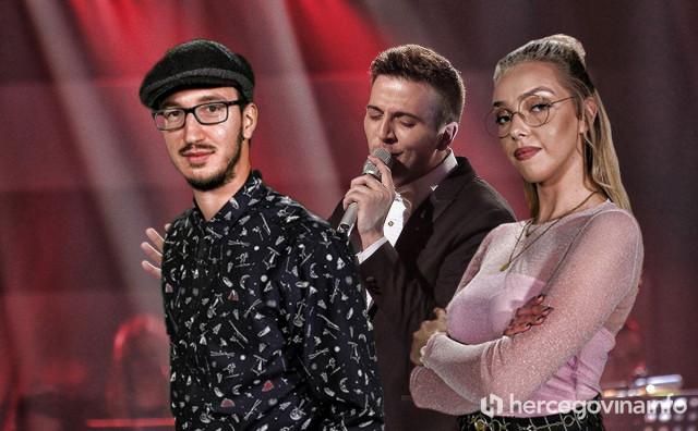 KUPOVALI HRVATSKE KARTICE Hercegovina pokušavala podržati Voice trio