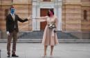 """U VRIJEME KORONE REKLI """"DA"""" Vjenčanje s razmakom i pod maskama"""