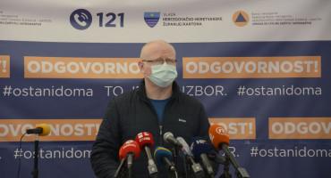 Čitluk prestigao Mostar po broju oboljelih, pozitivan i liječnik prvooboljelog u Mostaru