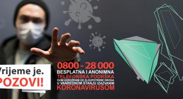 Podrška osobama ovisnim o drogama i ljudima u oporavku u doba koronavirusa