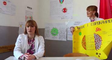 Mostarska profesorica učenicima rimom objasnila što su virusi