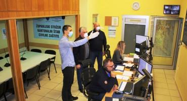 Operativni centar civilne zaštite HNŽ-a u šest dana obradio 3000 poziva vezanih za koronavirus
