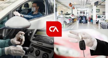 CENTRAL AGENT - Dezinfekcija i odvoženje auta na tehnički pregled