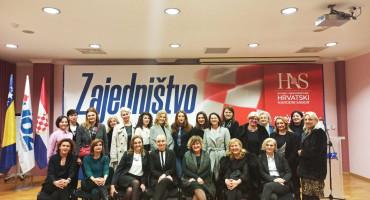 Snježana Brkić izabrana za predsjednicu GO ZŽ HDZ-a BiH Mostar 'Kraljica Katarina Kosača'
