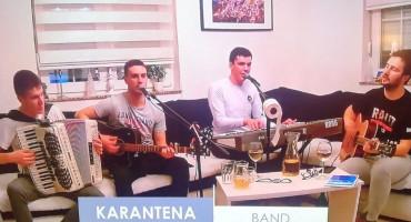 KARANTENA BEND Mladi glazbenici iz Livna večeras prave online koncert