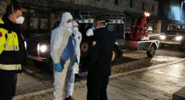 Počela sustavna dezinfekcija gradova u FBiH, prvo dezinficiran Konjic