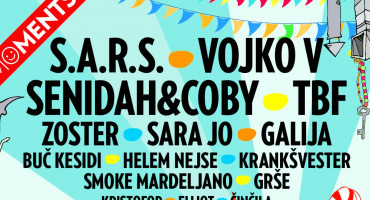 Na Mostar Summer Fest dolaze najjača imena regije: Senidah, S.A.R.S., Vojko V, Zoster i mnogi drugi
