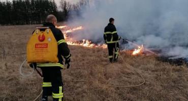 Vatrogasci iz Tomislavgrada imali pune ruke posla