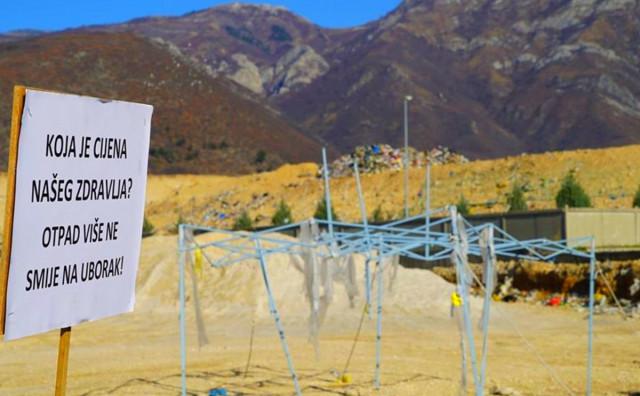 AKTIVISTI PORUČILI Ako ne pristanu na zahtjeve blokirati ćemo deponiju čim krizna situacija prođe