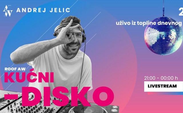 OSTANI KUĆI, PLEŠI ONLINE Mostarac organizirao kućni disko party