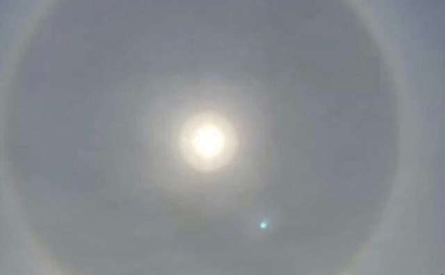 VATIKAN Nakon odluke o zabrani slavljenja misa s vjernicima, na nebu se pojavio neobičan fenomen sunca