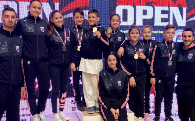 Karate klub Široki Brijeg bogatiji za 5 zlatnih medalja iz Banja Luke