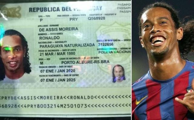 Uhićen Ronaldinho!