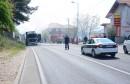 U Mostaru se zapalio kamion, obustavljen promet na M-17