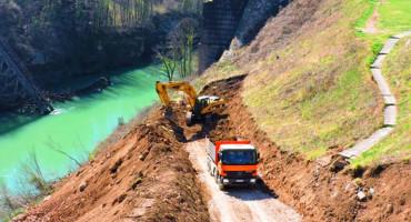 ODRAĐENI PRIPREMNI RADOVI Obnova mosta u Jablanici je prilika za turizam