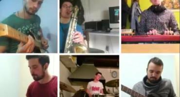 GLAZBOM PROTIV PANIKE Mostarci snimaju jam sessione iz karantene