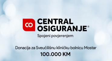 Central osiguranje doniralo 100.000 KM za SKB Mostar