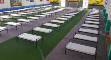 ŠIROKI BRIJEG Pripremljena sportska dvorana za smještaj lakše oboljelih
