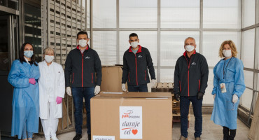 JUR PROM d.o.o. LJUBUŠKI donirao respirator Sveučilišnoj kliničkoj bolnici Mostar