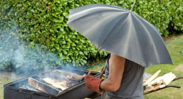 Na sutrašnje roštiljanje ponesite kišobrane