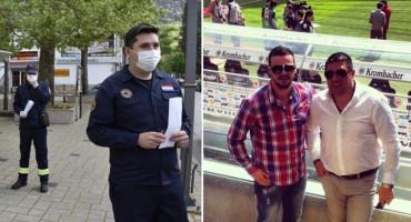 Kumovi Ljubušaci svom gradu poklonili 20 tisuća zaštitnih maski