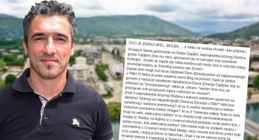 Čapljinac Mirko Vasilj pisao na Facebooku o Vidiću pa mora na saslušanje, Vidić bez komentara