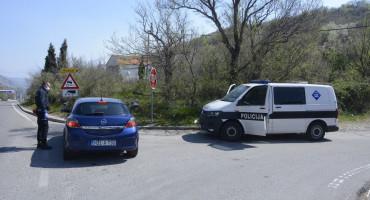 Policija kontrolira ulaze u gradove i općine u HNŽ-u