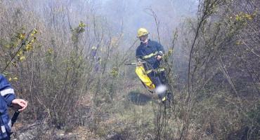 PVP MOSTAR Požar nećemo brzo ugasiti, ali nema opasnosti za kuće
