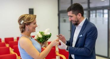 VJENČALI SE U SRED EPIDEMIJE Oženio se Salmir Kaplan