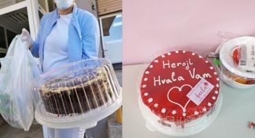 HEROJI, HVALA VAM Infektivnom odjelu stižu torte