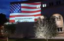 MOSTAR Mladi na zidu pružili Amerikancima podršku protiv korupcije