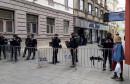 Sarajevo pod policijskom opsadom zbog svete mise
