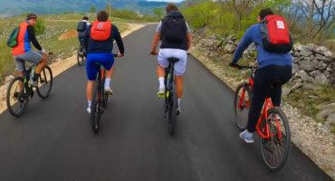 IZ JASENICE DO GORANACA Grupa Mostaraca odlučila biciklirati do Goranaca