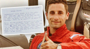 Objavljeno pismo poginulog pilota koje je nedavno napisao