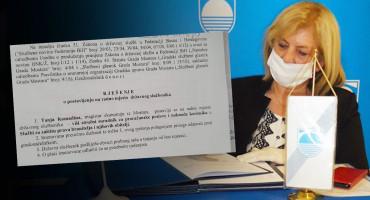 Kćerka Radmile Komadine ne radi u Gradskoj upravi Mostara
