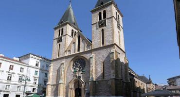 SARAJEVO Zbog mise zabranili promet i kretanje pješaka u blizini Katedrale