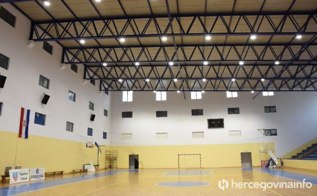 Gradska sportska dvorana u Čitluku sve sjajnija