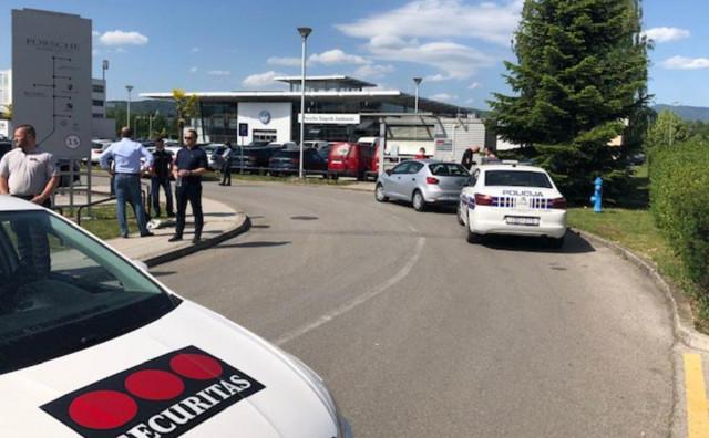 Deaktivirana bomba na Porscheu Hrvata iz Njemačke