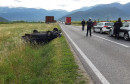 Teška prometna nesreća na ulazu u Mostar, dvije osobe prebačene u bolnicu