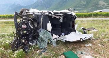 MOSTAR U teškoj prometnoj nesreći ozlijeđen načelnik Općine Konjic, njegova supruga kritično