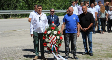 "Obilježena 28. obljetnica ""Lipanjske zore hrvatske Hercegovine"""