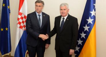 PLENKOVIĆ U MOSTARU Dolazim kao predsjednik Vlade i stranke koja kontinuirano podržava BiH na putu prema EU