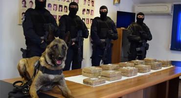 DUBROVNIK Zaplijenjen kokain vrijedan više od 4 milijuna KM