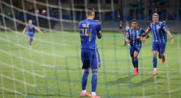 MARKO TOLIĆ Srušio je Dinamo pa slavio u omiljenoj majici iz Hercegovine
