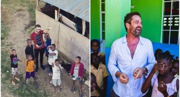 JOZO IVANKOVIĆ Djeca na Haitiju su sretna iako nemaju puno toga, a Gerard Butler je jednostavan čovjek
