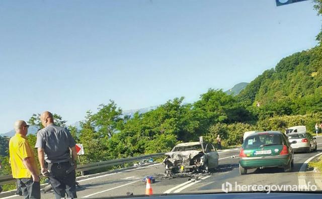 KONJIC U sudaru automobila i motocikla poginula jedna osoba