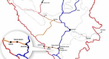 U pripremi nova brza cesta od Mostara preko Širokog Brijega do granice s Hrvatskom