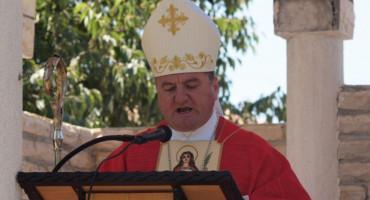 Novi biskup Petar Palić na Ilindan predvodi misu u Stocu